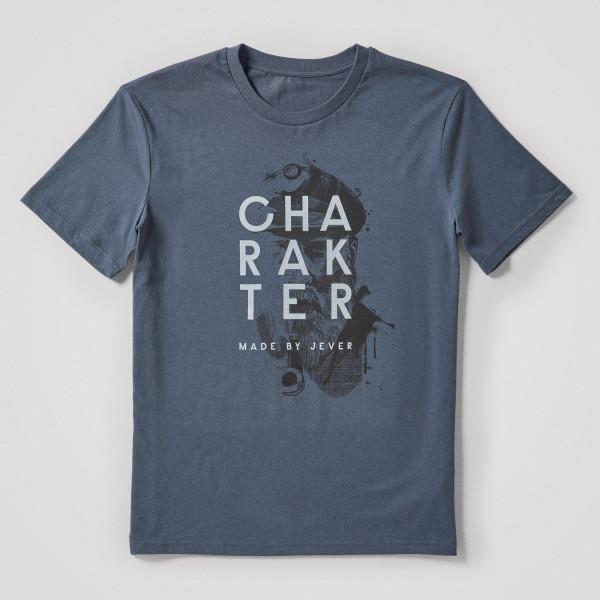 Herren Shirt Charakter, grau