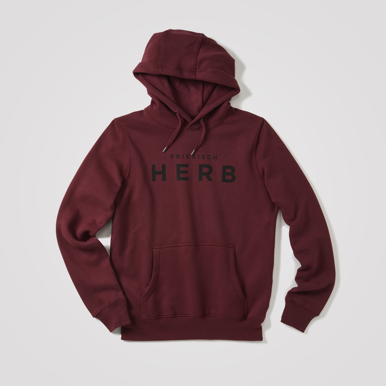 new style 84dcc 516a3 Herren Hoodie Friesisch-herb, rot