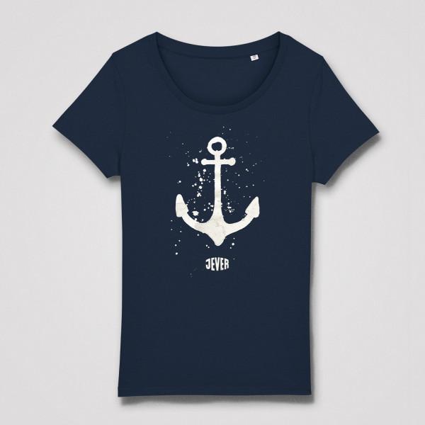 "Damen Shirt ""Anker"", blau"