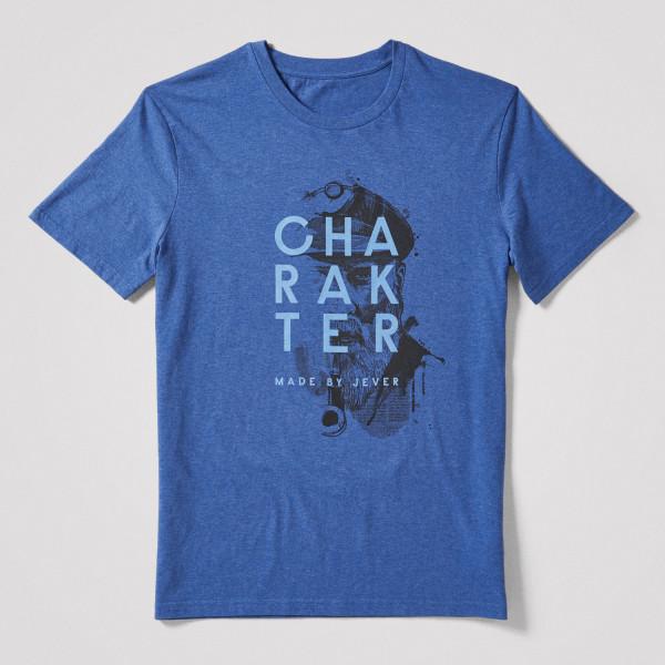 Herren Shirt Charakter, blau