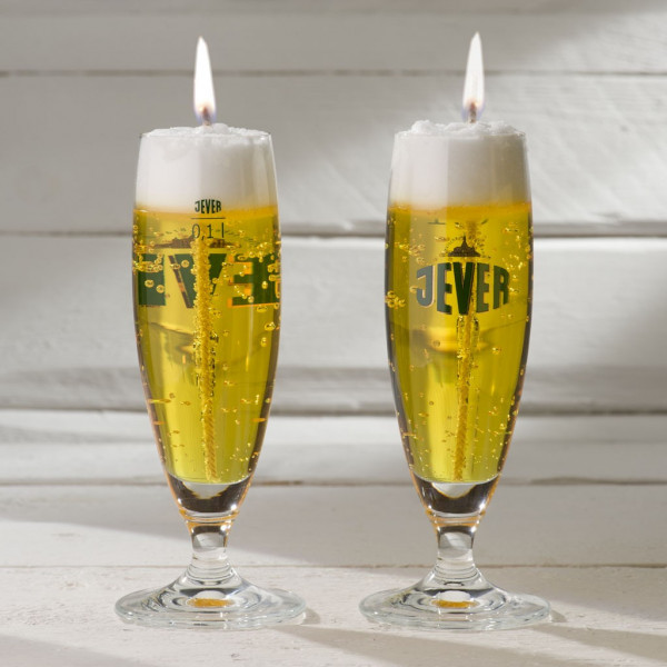 Bierglaskerze