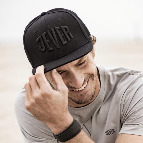 Snapbackcap, schwarz/schwarz