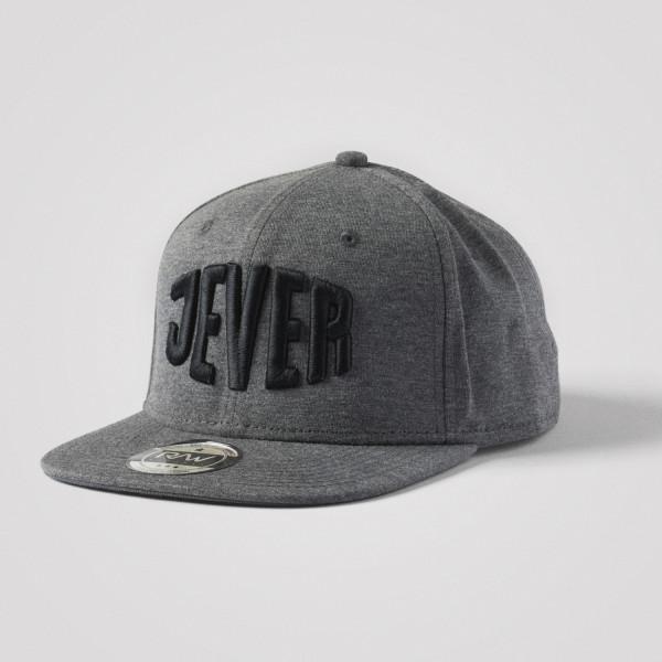 Snapbackcap, grau/schwarz