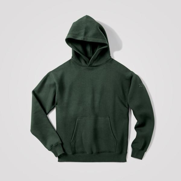 Herren Hoodie Perfekt, grün