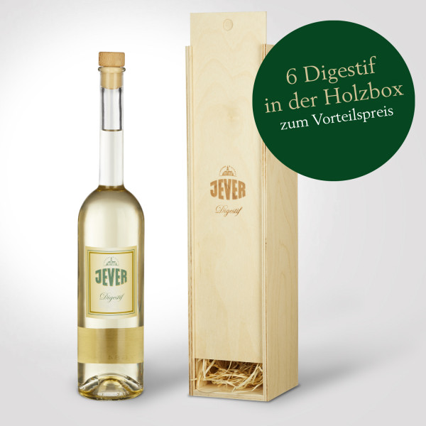 Jever Digestif in Holzbox 6er-Pack
