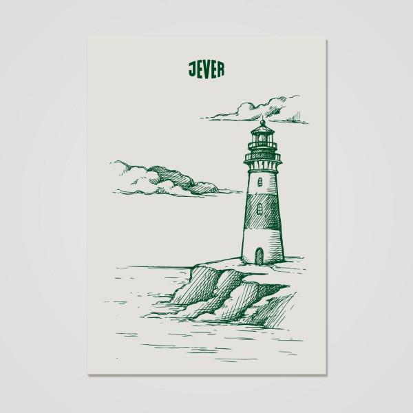 Postkarte Zeichnung