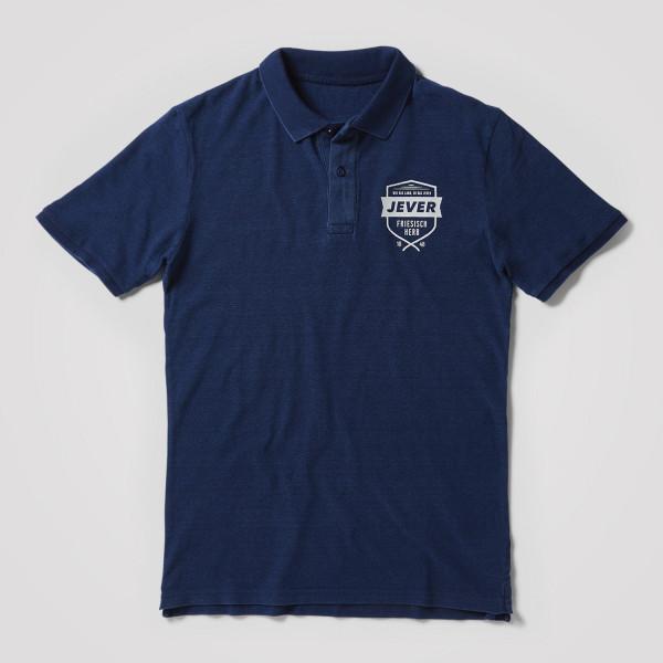 Herren Polo-Shirt Wappen
