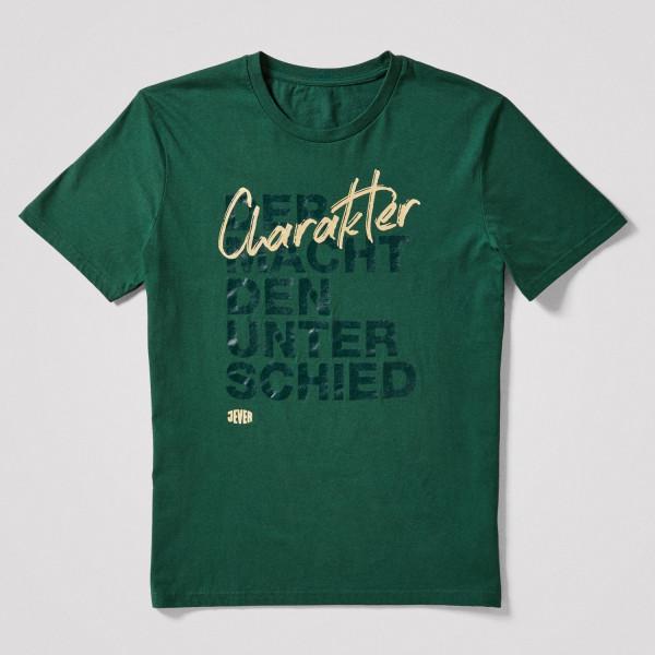 Herren Shirt Unterschied, grün