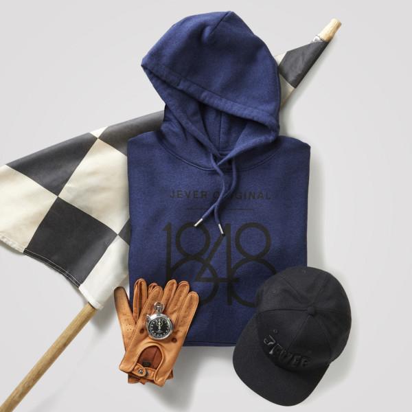 """Hoodie """"1848"""", blau"""