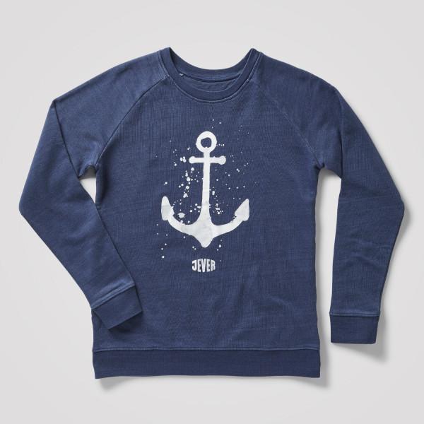 """Damensweater """"Anker"""", blau"""