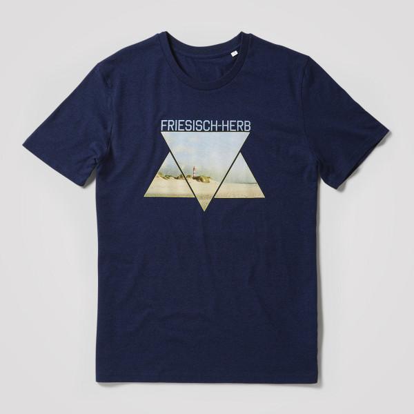 Herren Shirt Foto-Dreiecke
