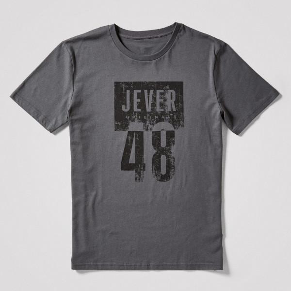 Herren Shirt Jever 48, grau