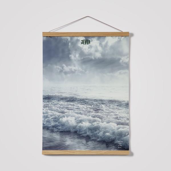 """Poster """"Wolken"""", """"Dünen"""" oder """"Meer"""""""