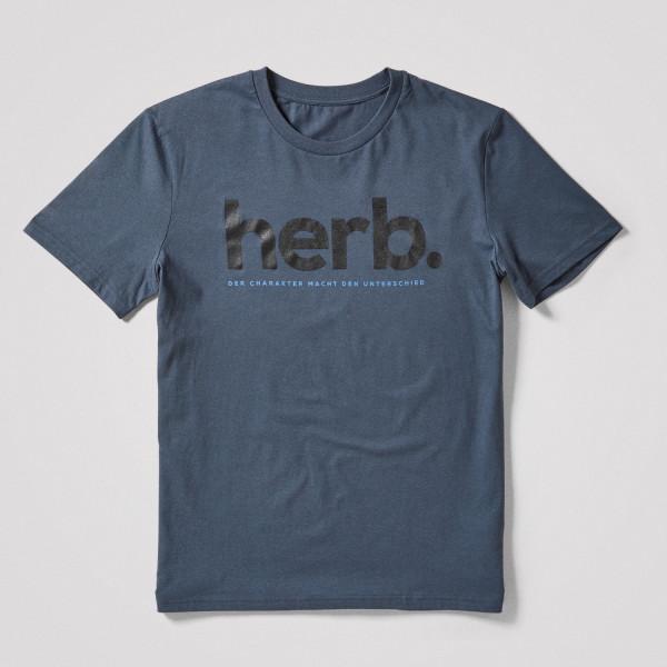 """Herren Shirt """"herb."""", grau"""