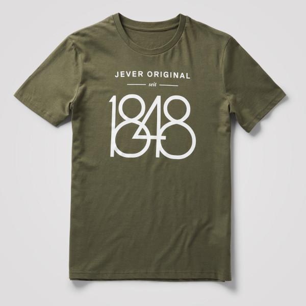 "Herren Shirt ""1848"", olive"