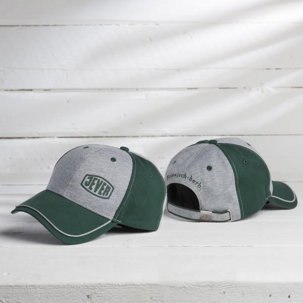 Jever-Cap, hellgrau/grün