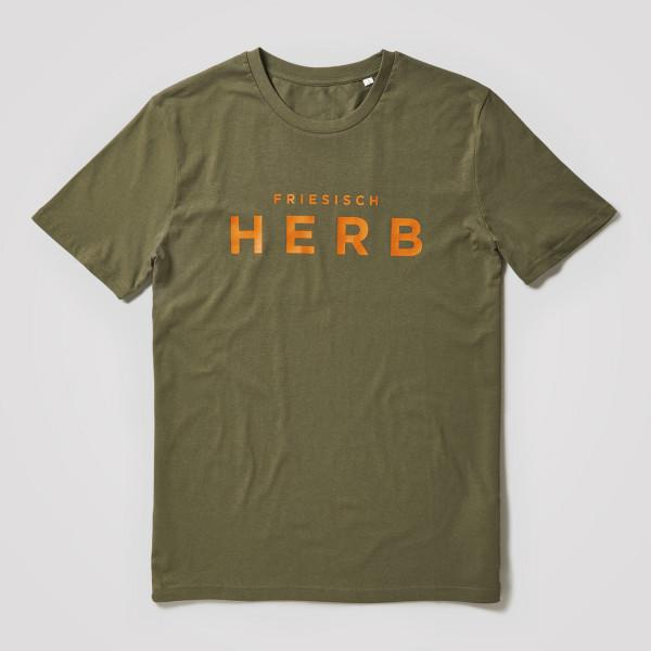 Herren Shirt Friesisch Herb, khaki