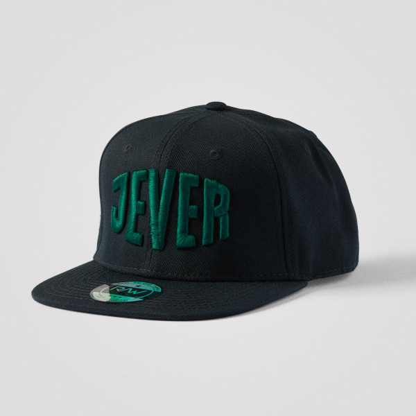 Snapbackcap, schwarz/grün