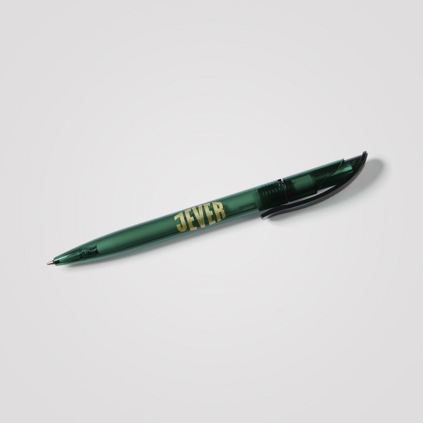Jever-Kugelschreiber grün
