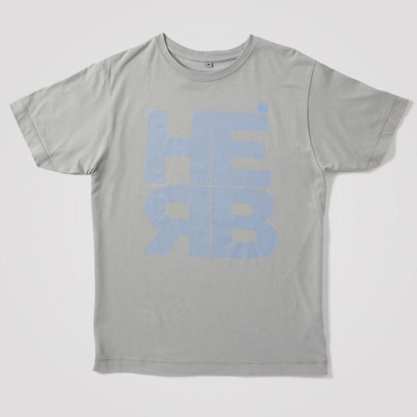 Herren Shirt HERB, hellgrau